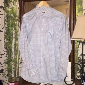 Joseph Abound 100% Egyptian Cotton 16 1/2-35 Shirt